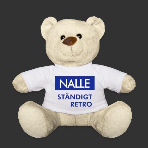 BLÅVITT NALLE - Nallebjörn