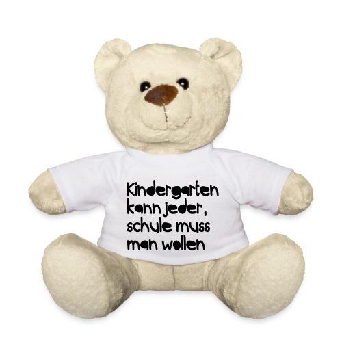 Kindergarten (Spruch) - Teddy