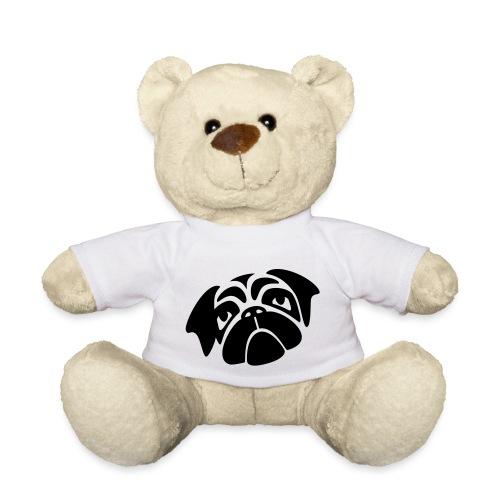 Mops mit schiefen Gesicht - Teddy