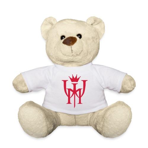 Logo MW Czerwone - Miś w koszulce