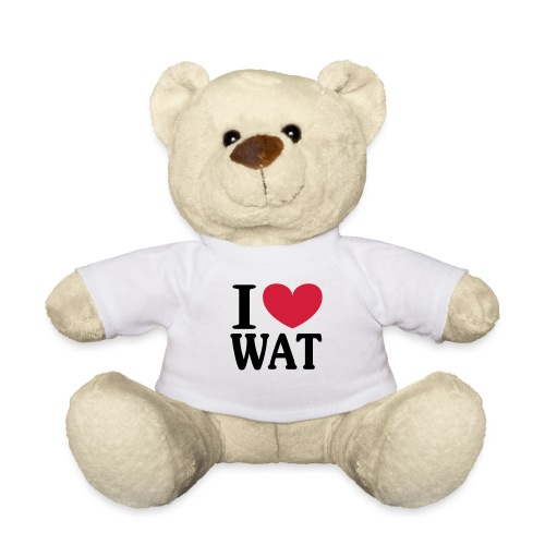 I love WAT - I ♥ Wattenscheid - Teddy