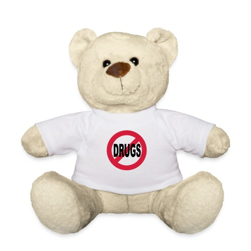 No to drugs - Teddy Bear