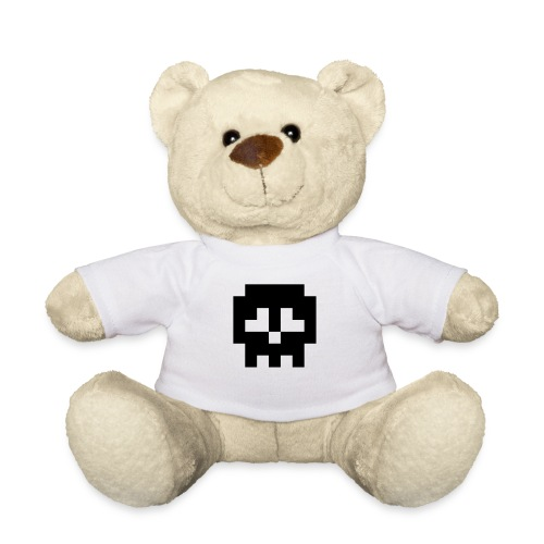 Retro Gaming Skull - Teddy Bear