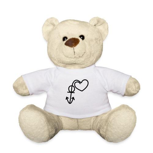 Anker mit Herz_16417 - Teddy