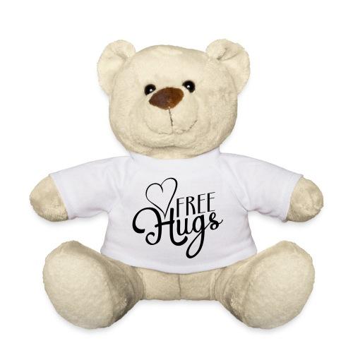 Importend Message FREE HUGS Heart - Teddy