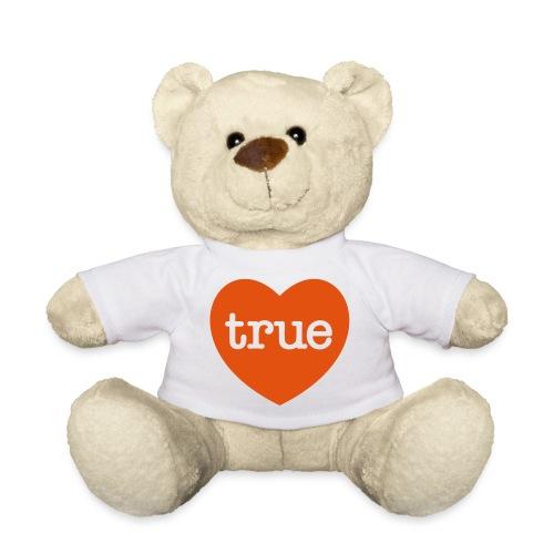 TRUE LOVE Heart - Teddy Bear