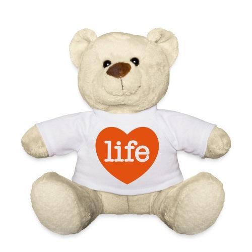 LOVE LIFE heart - Teddy Bear