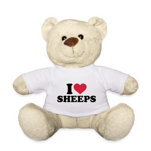 i-love-sheeps-texte - Nounours