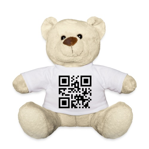 Jonas - QR Code Name - Vektorgrafik - Teddy