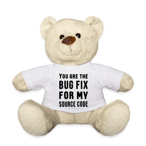 Programmierer Beziehung Liebe Source Code Spruch - Teddy