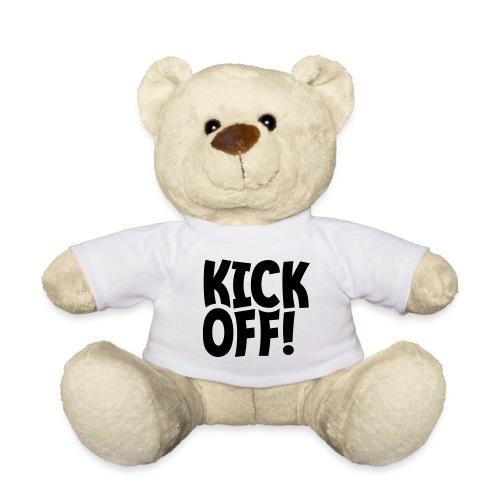 Slogan Kick off. Aftrap of meeting concept. - Teddy
