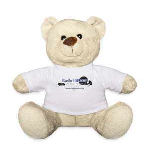 Radio PARALAX Facebook-Logo mit Webadresse - Teddy