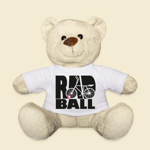 Radball | Typo Black - Teddy