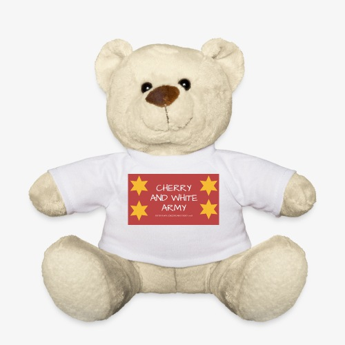 CHERRY AND WHITE ARMY NSW TOUR 2018 - Teddy Bear