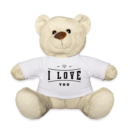 i love you2 - Miś w koszulce