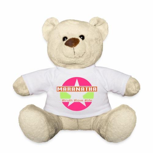 maranatha rosa-grün - Teddy