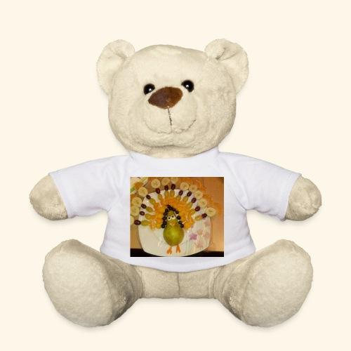 Witzig gestaltete Früchte-Spieße - Teddy