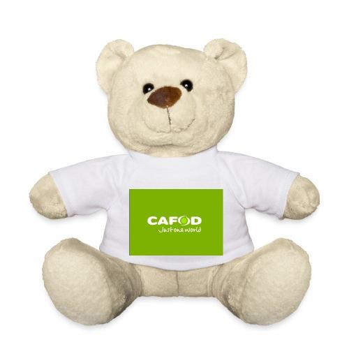 CAFOD Logo greenback - Teddy Bear