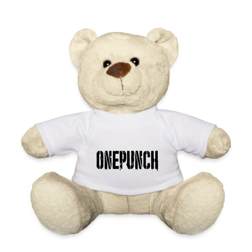 Boxing Boxing Martial Arts mma tshirt one punch - Teddy Bear