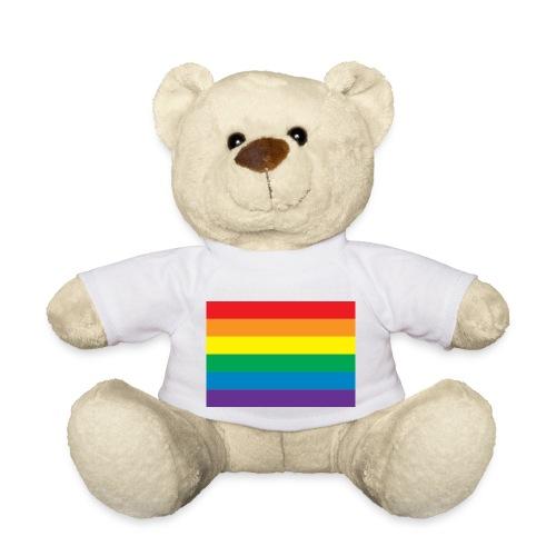 Classic Gay Pride Rainbow - Teddy Bear
