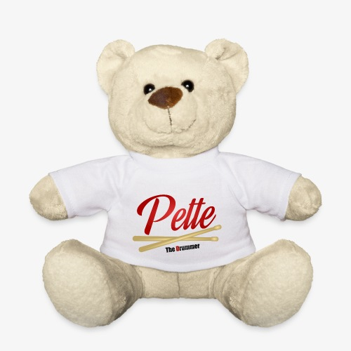 Pette the Drummer - Teddy Bear