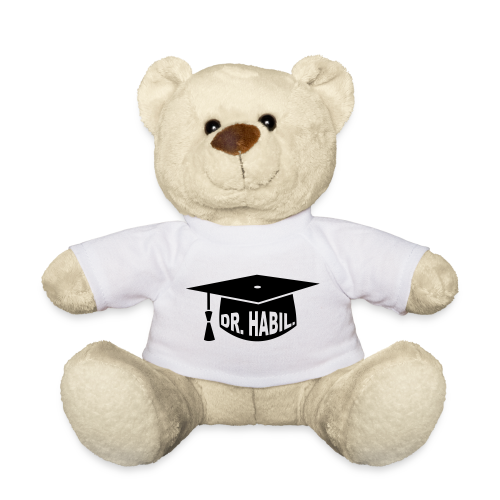 Doktorhut Professor Habilitation Geschenk - Teddy