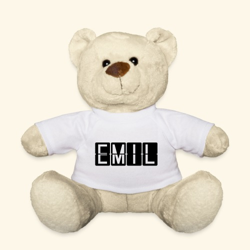 Geschenkidee Teddybär mit dem Name Emil - Teddy