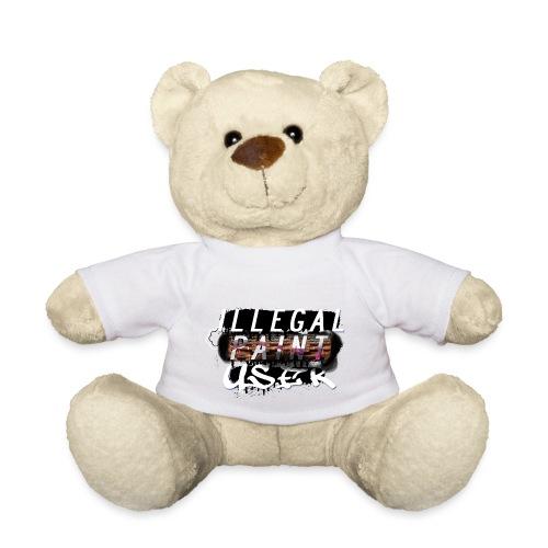 illegal paint user - Teddy Bear