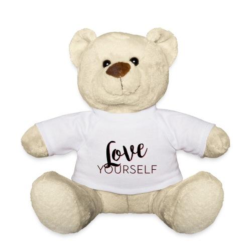 Love Yourself -Schriftzug Pascal Voggenhuber - Teddy
