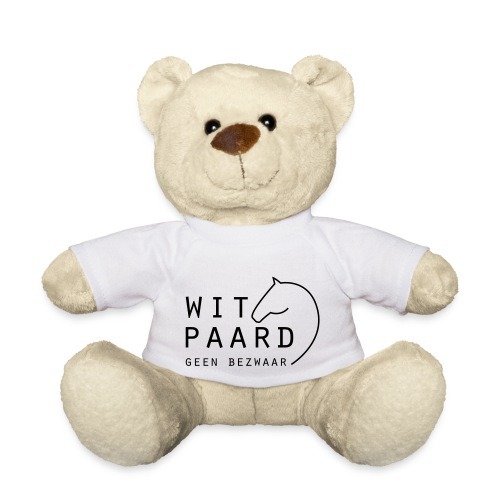 Wit_paard_geen_bezwaar - Teddy