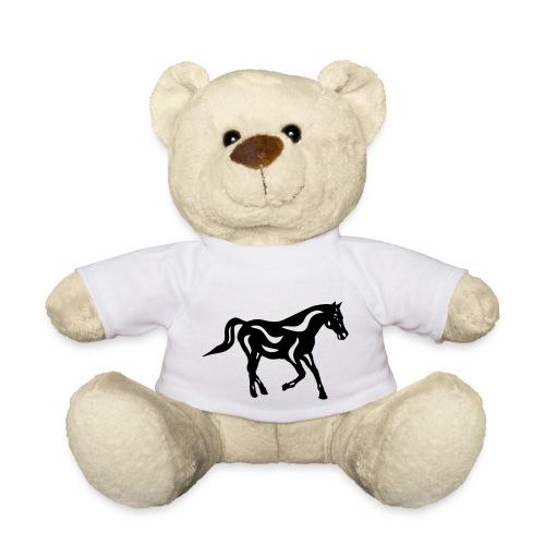 Abstraktes Pferd Heinrich - Teddy