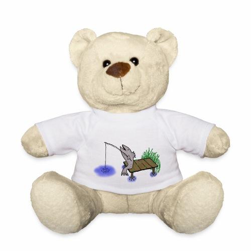 Fisch, Angler,Teich - Teddy