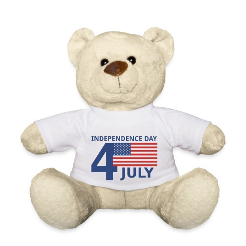 4th of July. 4 luglio - Orsetto