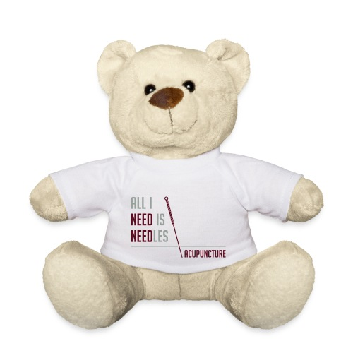 All I need is needles - Nounours