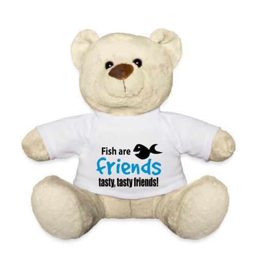 Fisk er venner - Teddybjørn