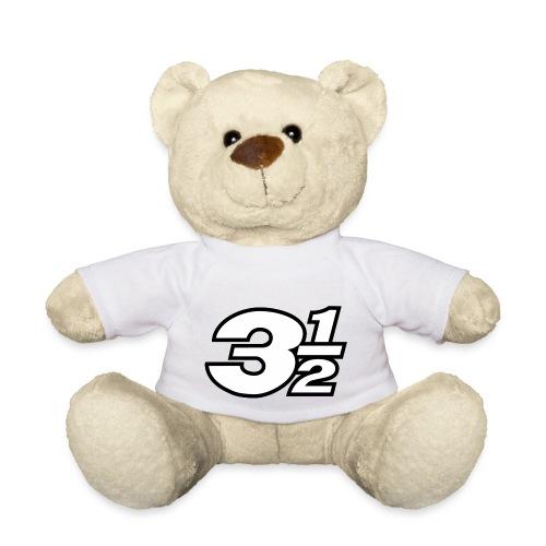 Three and a Half Logo - Teddy Bear