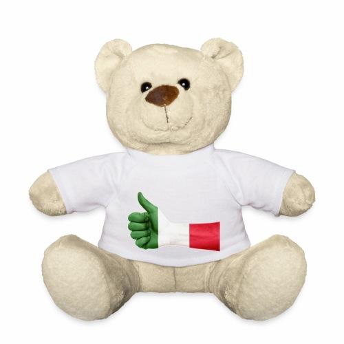 Italienische Flagge auf Daum - Teddy