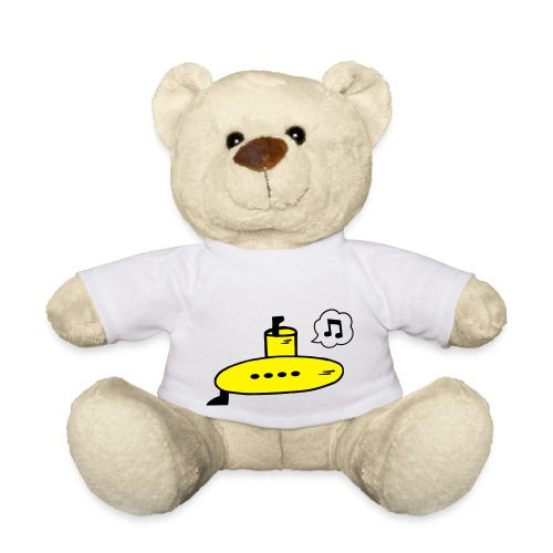 Singing Yellow Submarine - Teddy Bear