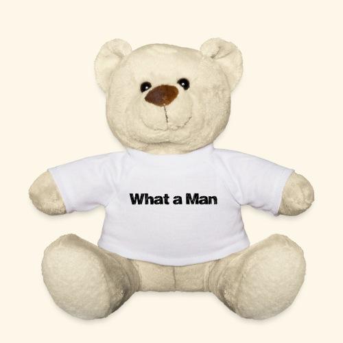 What a Man schwarz - Teddy