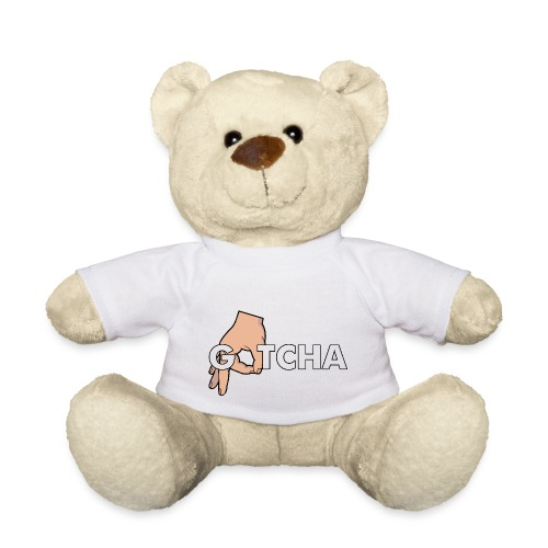 Gotcha Made You Look Funny Finger Circle Hand Game - Teddy Bear
