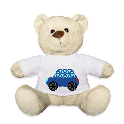 The Car Of Life - M02, Sacred Shapes, Blue/286 - Teddy Bear