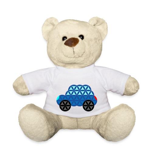 The Car Of Life - M01, Sacred Shapes, Blue/286 - Teddy Bear