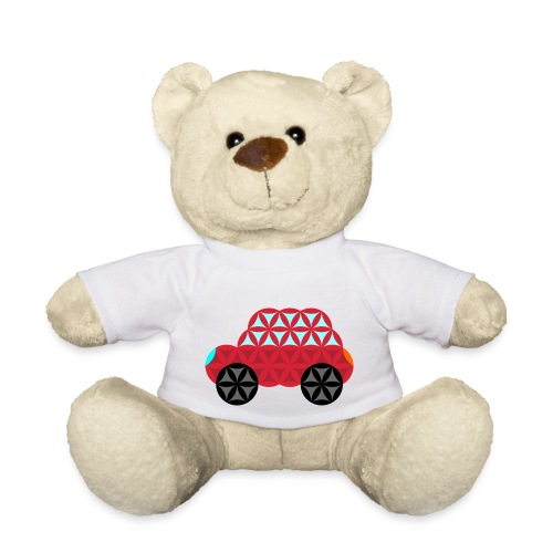 The Car Of Life - M01, Sacred Shapes, Red/186 - Teddy Bear