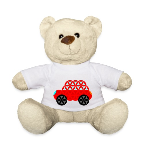 The Car Of Life - M01, Sacred Shapes, Red/R01. - Teddy Bear