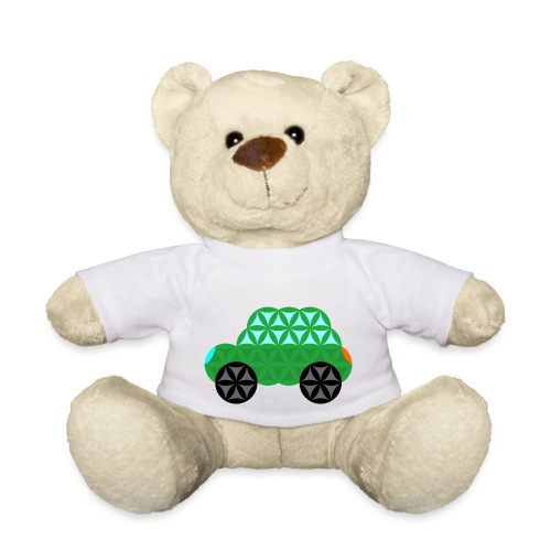 The Car Of Life - M01, Sacred Shapes, Green/363 - Teddy Bear