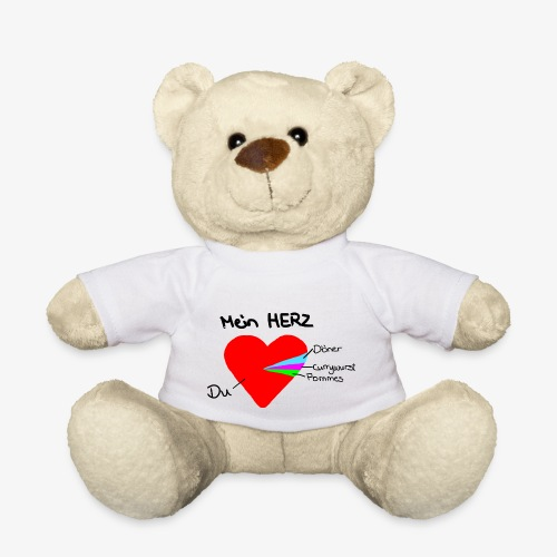 Herz Tortendiagramm 3 - Teddy