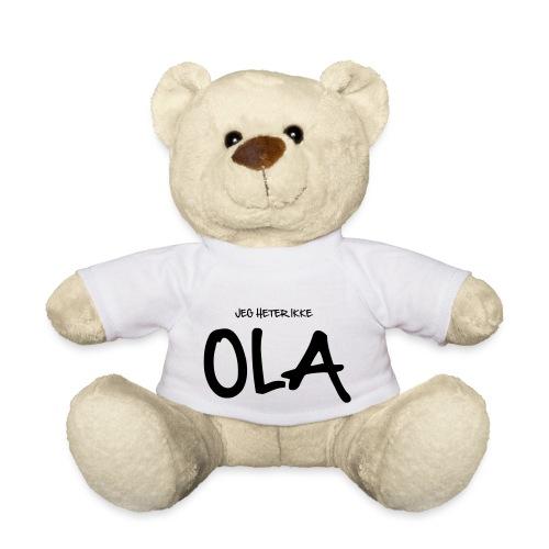 Jeg heter ikke Ola (fra Det norske plagg) - Teddybjørn