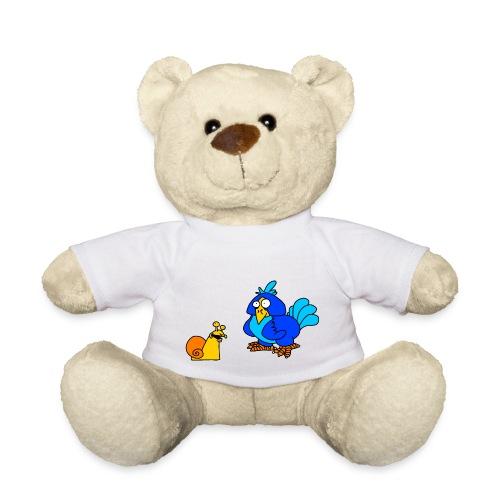Schnecke und Vogel von dodocomics - Teddy