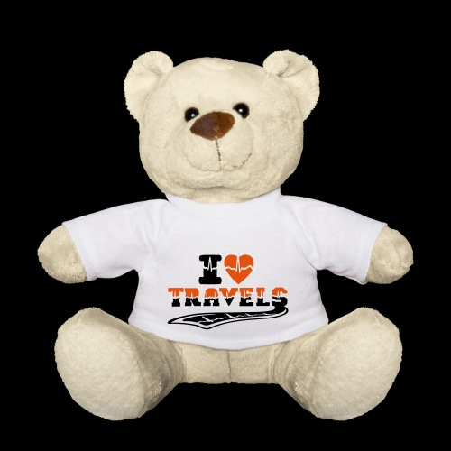 i love travels surprises 2 col - Teddy Bear
