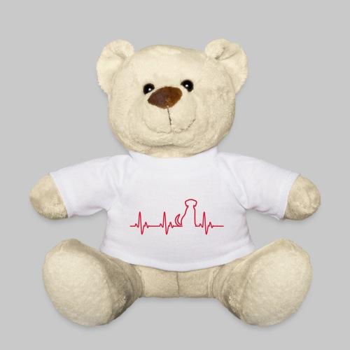 Hunde Herz - Teddy